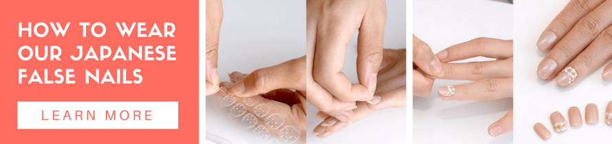 how to wear our japanese false nails