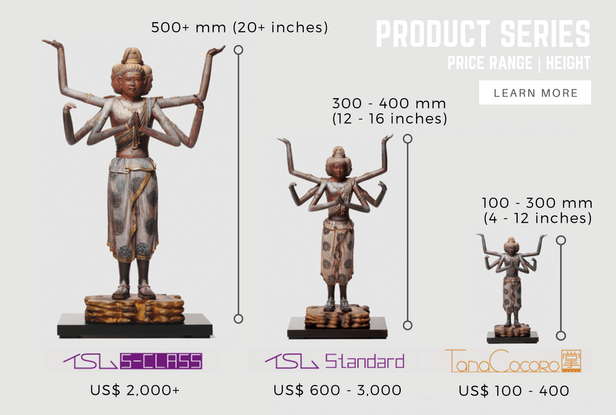buddhist statues and figures product series