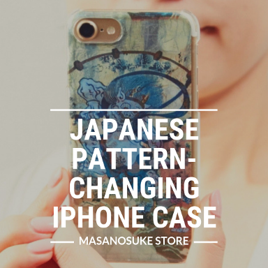 japanese pattern changing iphone case masanosuke store