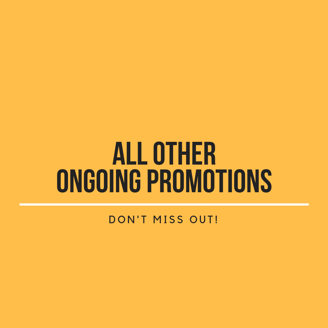 ongoing promotions