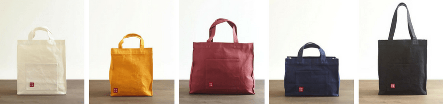canvas tote bag kurashiki hanpu